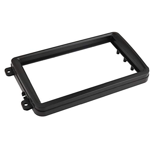 AIOFOGXC Radio Fascia/Ajuste para VW Touran/Fit Forcaddy Jetta/Fit for Golf/Fit for Passat/Fit para Skoda Fabia Octavia Seat Leon Stereo Panel Trim Play DVD Frame (Size : 178X102 mm)
