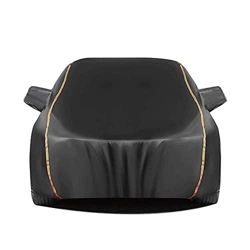 Funda Coche Universal Cubierta de coches Cubierta de granizo Compatible con Audi / A1 A2 A3 A4 A4L A5 A6 A6L A7 A8 A8L   Oxford Plus Cotton Car Tarpaulin Nieve al aire libre, lluvia, polvo y protecció