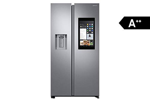 Samsung RS68N8941SL koelkastdeur, roestvrij staal, 593 l, A++ - Side-by-Side koelkast (roestvrij staal, Amerikaanse deur, LED, R600a, glas)