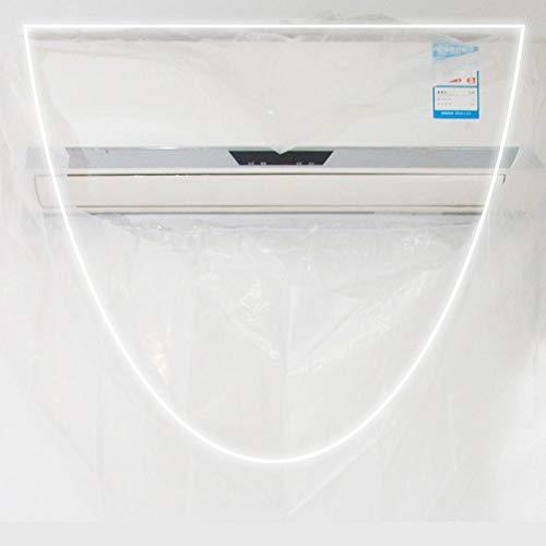 didatecar - Cubierta para aire acondicionado exterior, resistente al agua, protección contra el polvo, cubierta de PVC, resistente al agua, reutilizable, L.