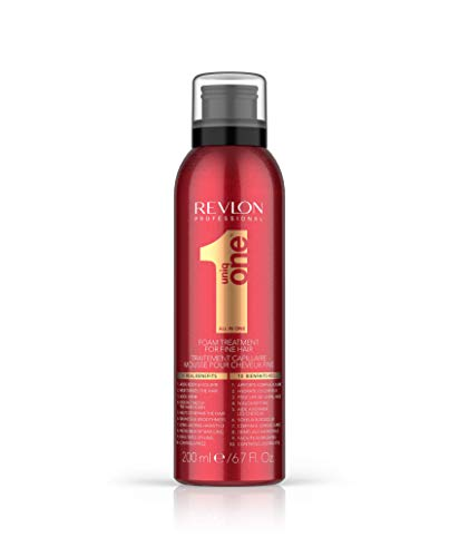 Revlon uniq one foam treatment 200 ml (fine hair)