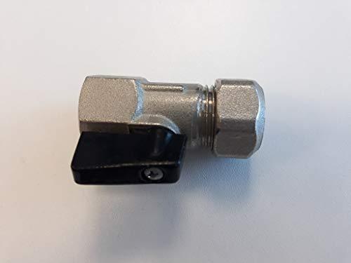 Universal - Mini valvula de esfera 1/2 h tubo 15mm. c/maneta