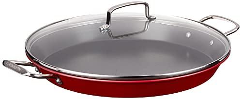Cuisinart Non-Stick Paella Pan, 15', Red,ASP-38CR
