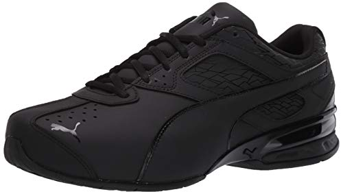 PUMA Men's Tazon 6 Fracture FM Sneaker Black, 13 M US