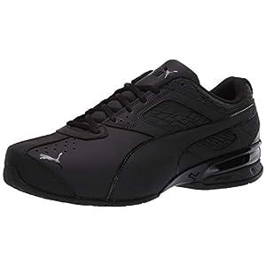PUMA Men's Tazon 6 Fracture FM Sneaker Black, 12 M US