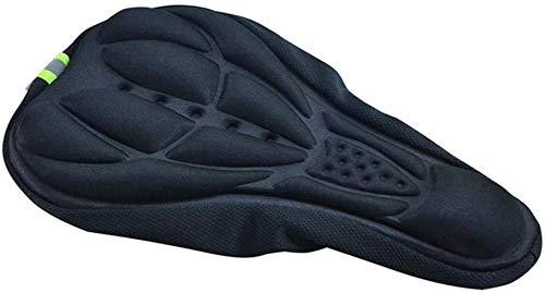 Cubierta de asiento para bicicletas para bicicletas para hombres Comodidad, cojín 3D Cubiertas para niños Sillín de asiento para hombres Mujeres gruesa suave Ciclismo Asiento Estero Sponge Pad Cover