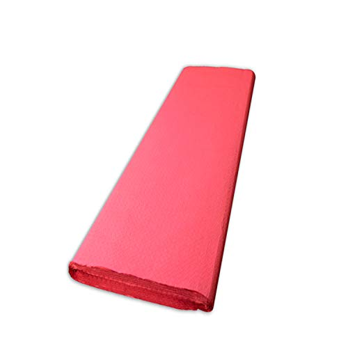 Mantel Morigami, 100 x 100 Cm, Gofrado, 44 Gramos, Rojo, Set de 500 unidades