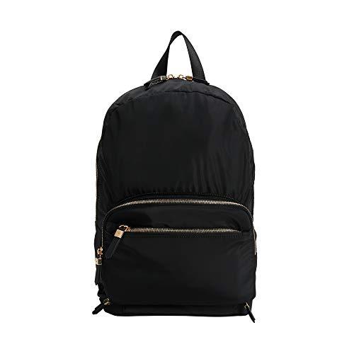 Parfois - Rucksack, Der Sich Zum Koffer Umwandeln Lässt - Damen - Größe M - Schwarz