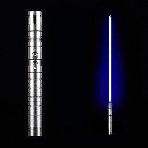 ADIS Sable de luz Audible Espiración Juguete Espada-Plata Gris Mango-Azul Luz