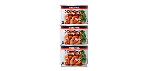 明治屋 MYウインナーソーセージブルーREO#8 3缶シュリンク 282g (94g×3)