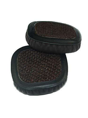 Rhinenet - Cuscinetto di ricambio in pelle proteica per cuffie Marshall Major & Major II & Major 2 On-ear e Bluetooth Headset Headset padiglioni auricolari
