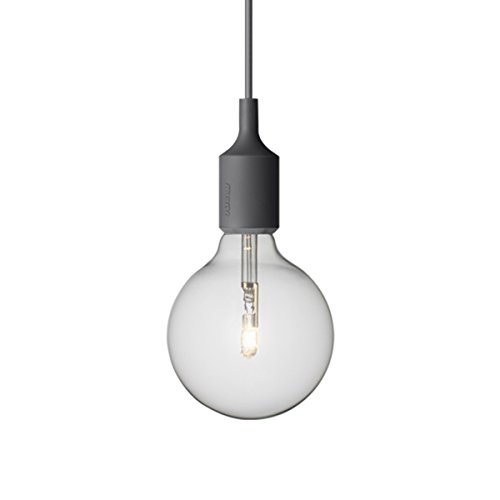 Muuto E27 - Dark Grey - Halogen