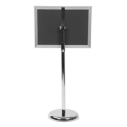 Soporte de información altura ajustable de acero inoxidable soporte de información A3...
