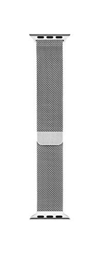 Apple Watch Cinturino Acciaio Milanese 42 mm Originale Apple Loop in maglia milanese (42 mm) Magnetico in Acciaio per Apple Watch e Apple Watch Sport Edition e Watch Edition