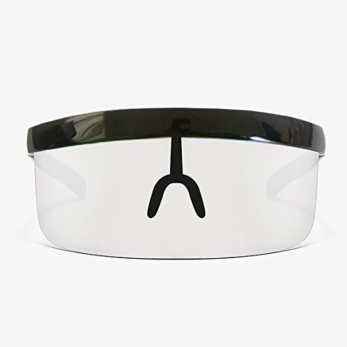 FanLe Visor Protector Facial Protector Facial de Gran tamaño, Cobertura Frontal y Lateral, Ideal para Usar a Largo Plazo Gafas de Sol Reutilizables con protección UV 20 * 300 cm