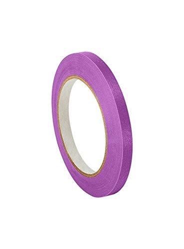 3M 501+ Purple 0.5' x 60yd High Temperature Masking Tape, 0.5' x 60 yd. Roll, Purple