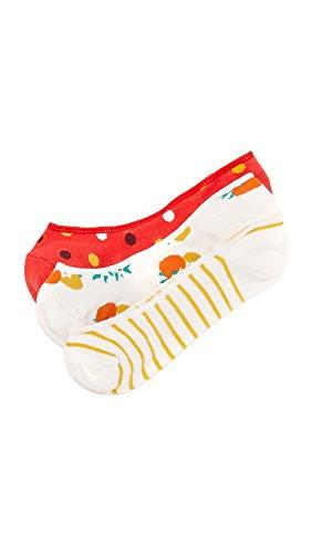 Kate Spade New York Women's Orangerie Sock Set, Cream, One Size