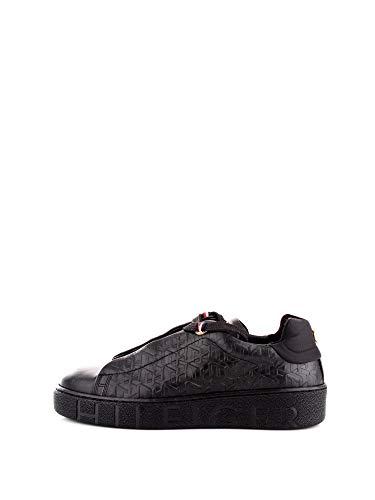 Tommy Hilfiger Tommy Monogram Dressy Sneaker, Scarpe da Ginnastica Basse Donna, Nero (Black 990), 39 EU