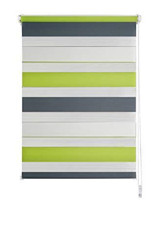 Suntesso Klemmfix Store double pour portes et fen/êtres sans per/çage Blanc 90 x 200 cm