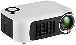 LED Pico Video Projector - Pocket Size Portable Mobile Mini Projector with Built-in Speakers, 3.5mm Aux Out, Micro SD/USB