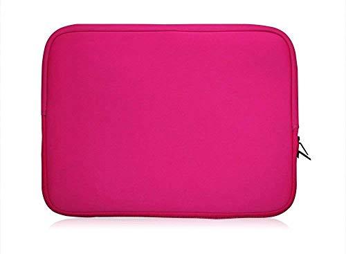 Sweet Tech Rosa Neopren Hülle Tasche Sleeve Case Cover geeignet für Acer Aspire R 13 R7-371T Convertible Notebook 13.3 Zoll (13-14 Zoll Laptop)