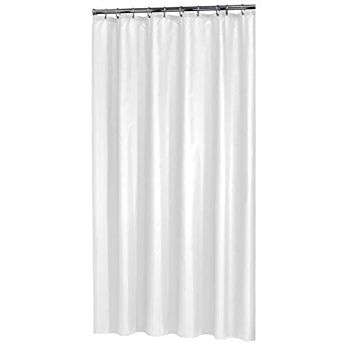 Sealskin 238501110 Duschvorhang Madeira, Textil, Farbe: Weiß, B x H: 120 x 200 cm