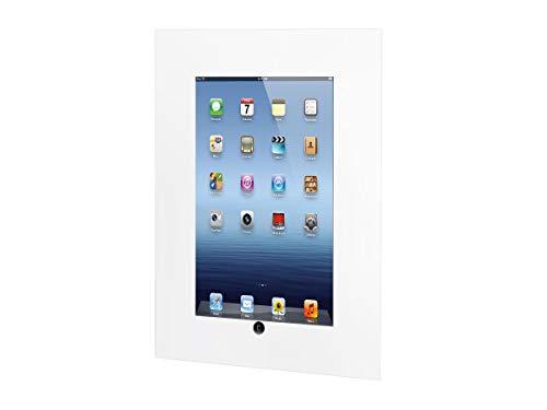 TabLines TWE050W Tablet Wandeinbau für iPad 2/3/4, Homebutton zugänglich, weiß