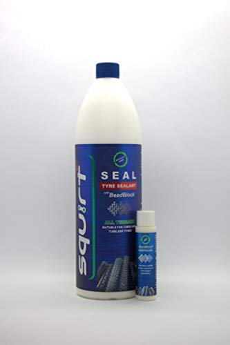 Squirt Seal Tyre Sealant with Beadblock 1000ml