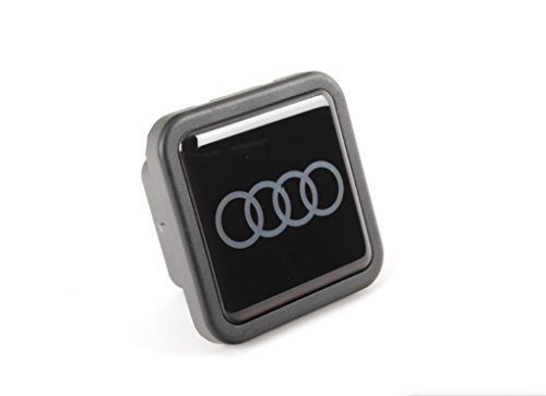 AUDI Genuine ZAW092702B Trailer Hitch Cover