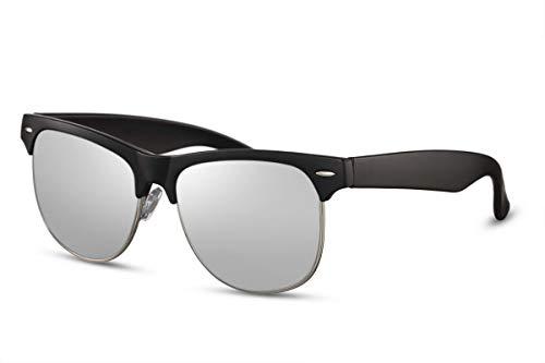 Occhiali da sole unisex per viaggiatori Kat.3 nero/argento (CWI2530)