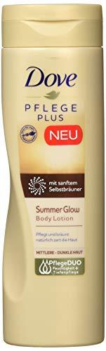 Dove PFLEGE PLUS Summer Glow Body Lotion, 250 ml