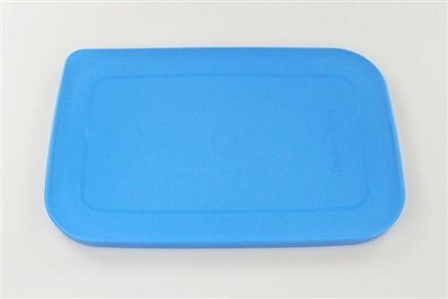 TUPPERWARE KlimaOase Deckel 4,4 L od.1,8 L flach blau Fleischkönig Ersatzdeckel