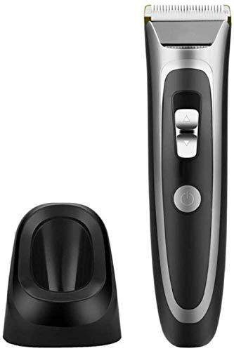 DJYD Les Hommes Cutter Professional Hair Rchargeable LCD Tondeuse Rasoir Salon de Coiffure Coupe Mustache Clipper sans Fil -Black-Noir FDWFN (Color : Black)