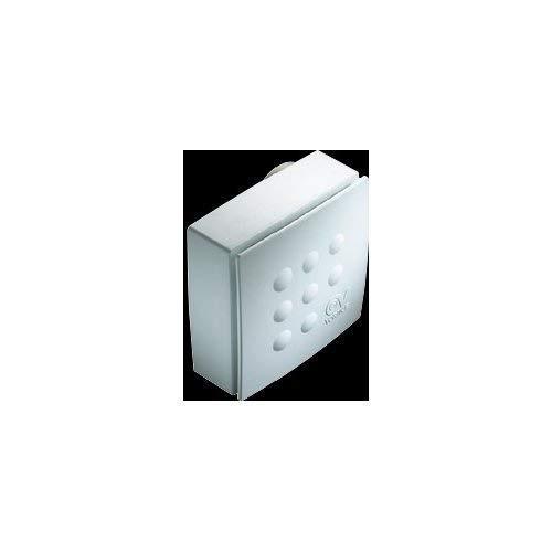Vortice 11638 Aspiratore Centrifugo Quadro Micro 80 Condotti, 27 W, 240 V, Bianco, 85 m3/h