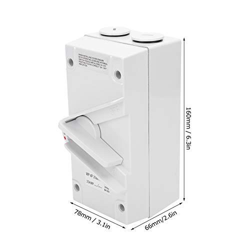 Interruptor de aislamiento manual a prueba de agua, Interruptor de aislamiento a prueba de agua Estable a prueba de polvo para uso profesional para fábrica de uso general para componentes(CF-4P35A)