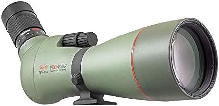 Kowa TSN-883 Prominar Pure Fluorite Spotting Scope Body, Angled with TE-11WZ Zoom Eyepiece