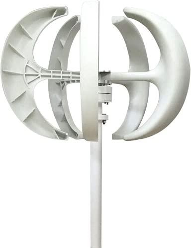 AECEVAN 8000W Wind Turbine Generator, 5 Blades 12V 24V Vertical Axis Wind Turbines Generator Kit for Home Hybrids Streetlight Use Electromagnetic Electricity Producer Equipment (12V)