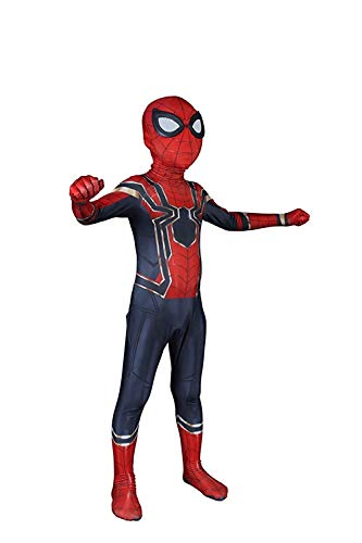 CosplayLife Halloween Kostüm Heimkehr Weit weg von Zuhause Eisenspinne Erwachsene/Kinder Lycra Spandex Zentai - Mehrfarbig - XL