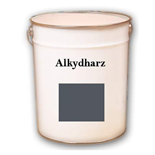 Hauptversand24 2,5 kg RAL 7015 gris pizarra revestimiento de fachada mate fachada pintura exterior resistente a los rayos UV
