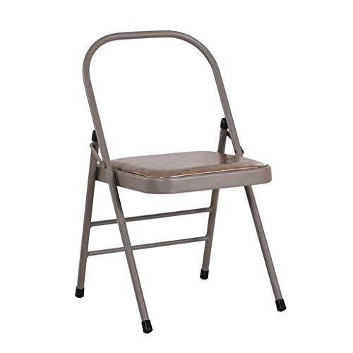 Tangzhi Yoga-Stuhl Iyengar Yoga-Stuhl Yoga umgedreht Hilfshocker Dicker Klappstuhl (Color : Gray, Size : 40 * 45 * 80CM)