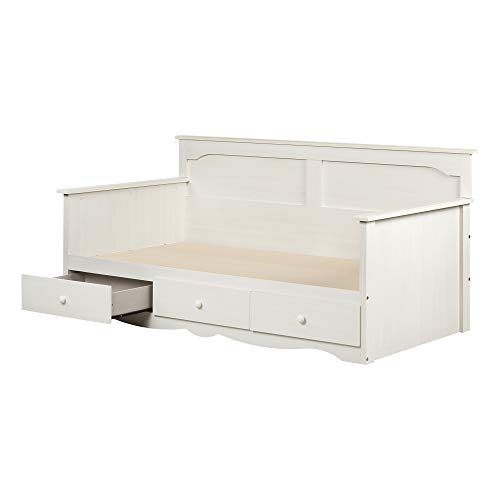 South Shore 3210189 Summer Breeze Twin Daybed with Storage
