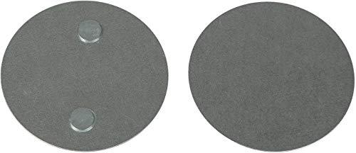 Safe2Home® 5X Rauchwarnmelder Schnellbefestigung 5er Set - Rauchmelder Magnet Halterung für Glatte Flächen