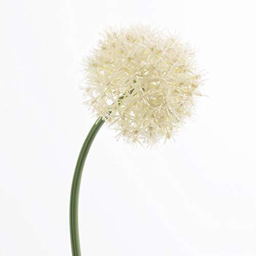 artplants.de Künstliches Allium, Creme, 65cm, Ø 15cm - Blumenlauch - Kunstblume - Dekoblume