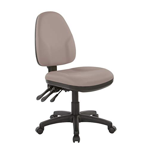 Office Star Ergonomic Dual Function Chair with Adjustable Back Height, Dillon Stratus Fabric