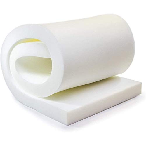 TOP STYLE COLLECTION Upholstery Foam Sheet Cut to Any Size Cushion Seat Pads Bedding Sofas Bar Seating Pads Office Chair Window Seats Footstool Tops Foam Garden Seat Cushions (24'x30'x5')