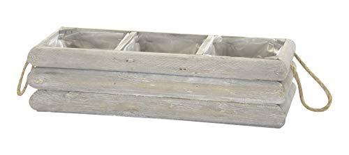 DARO DEKO Holz Pflanz-Kasten