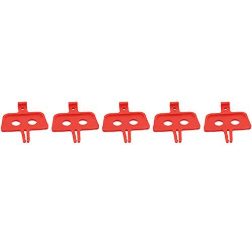 MNSYD 5 PCS/Set Fahrradbremse Distanzstück Öldruck Scheibenbremsen Fahrradteile Werkzeug Radfahren Outdoor-Zubehör