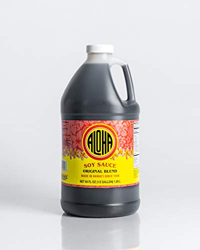 Aloha Soy Sauce Large 64 Oz. Jug (original blend)