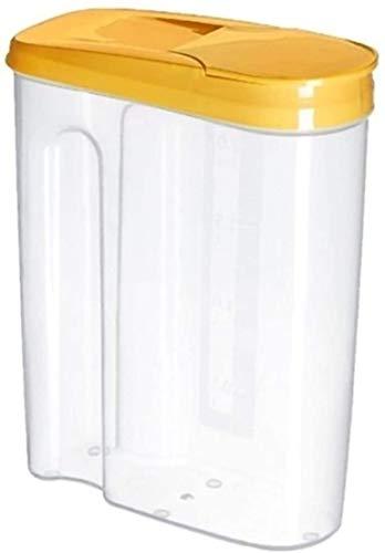 SDHENAILIAN Botes para Alimentos Tarro de Almacenamiento Tarros Botes Cereales De Almacenaje, Plástico Hermética De La Cocina De Sello Pot Cereal De Grano Grano De Arroz Snack-Box Contenedor Tarro