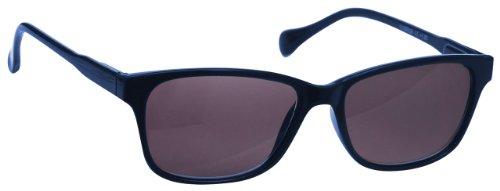 UV Reader Azul Marino Ligero Lectores De Sol Gafas De Lectura Estilo Diseñador Hombres Mujeres UV400 Inc Caso UVSR027 +1,00